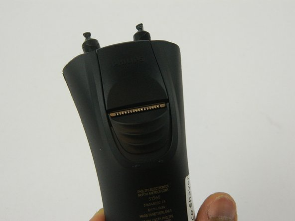 Philips Norelco Shaver 2100 Installing the pop-up trimmer Replacement