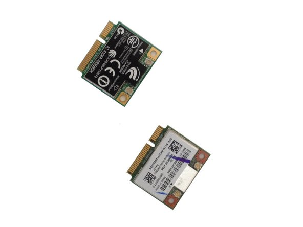 Compaq Presario CQ58 WiFi, Bluetooth mini PCI card Replacement