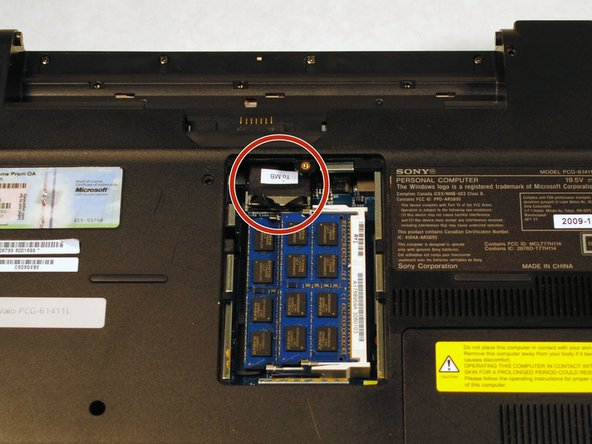 Before you move away from where your RAM is located, be sure to unplug the wire labeled To MB. If you do not unplug this, the back panel you are trying to remove will not come off.