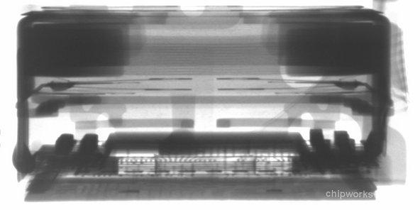 X-ray of the Sony camera in the iPhon 4S