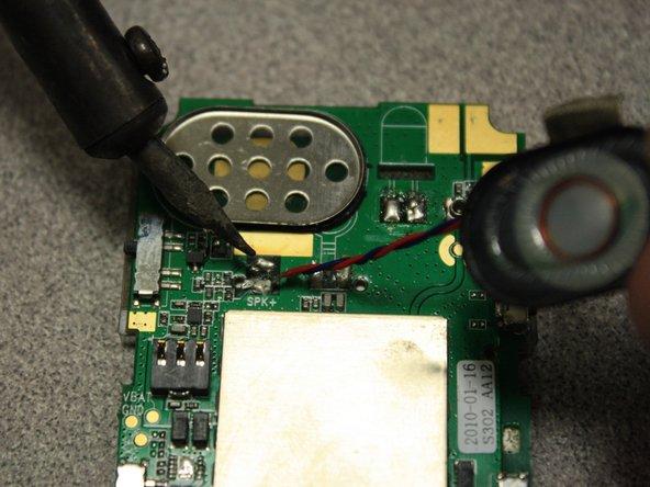 Remplacement du haut-parleur du Snapfon ez One