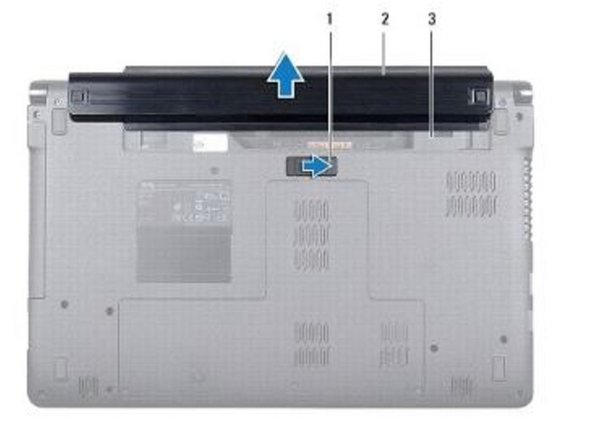 Dell Inspiron 1564 Battery Replacement