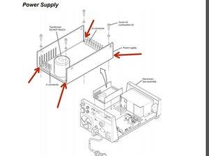 Newport e500 Power Supply Disassembly
