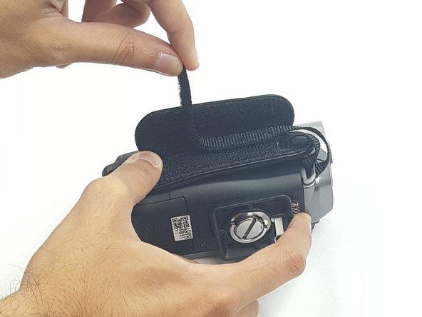 Peel the hook and loop fastener apart