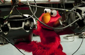 Even Muppets Repair Their Stuff