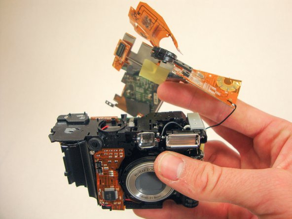 Image 1/1: The black wire should not be broken or removed. This will damage the camera.