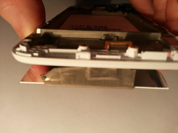 Pull the LCD screen away from the case.