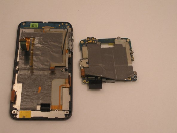 The motherboard will now be free from the rest of the phone.