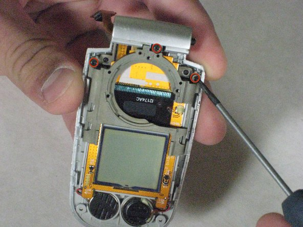 Disassembling Samsung SPH-A760 Screen