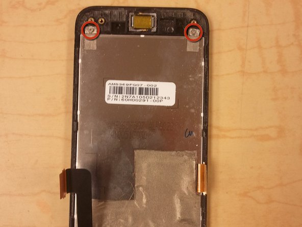 Repairing HTC Droid Incredible LCD