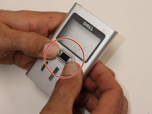 Look for cracks in the device's shell and identify whether the device shell is obstructing the button connection.