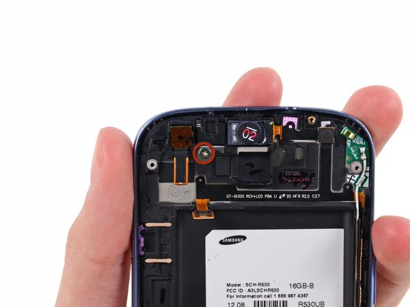 Samsung Galaxy S III Front-Facing Camera Replacement