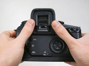 Canon EOS 30 Top Panel Replacement