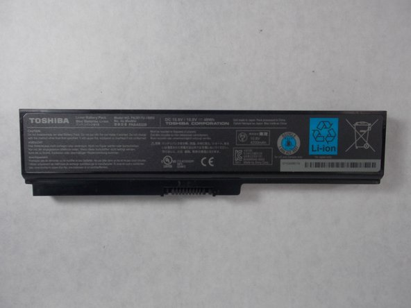 Toshiba Satellite L675D-S7015 Battery Replacement