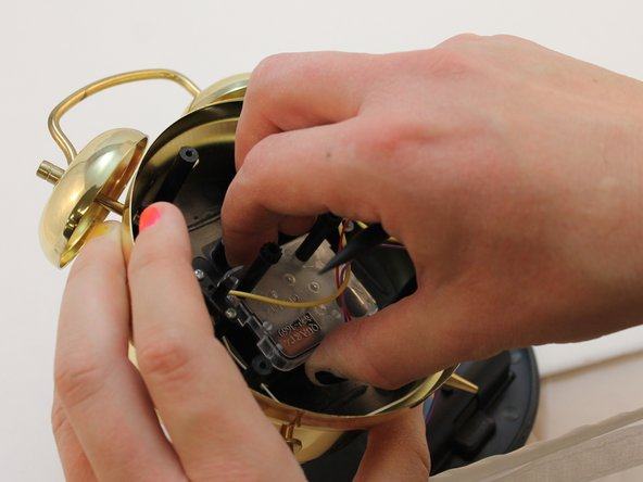 Using your hand remove the wiring box and replace it with a new one.