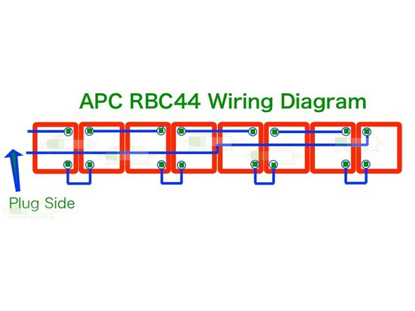 Use the wiring diagram made in step three to fill the cartridge with your brand new replacement batteries.