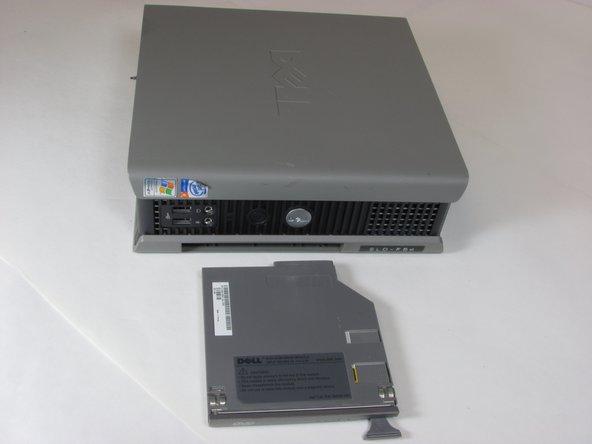 Remplacement du lecteur optique du Dell Optiplex SX280