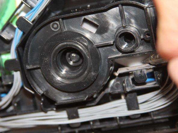 """Sollte beim ersten Versuch des Ausdrucks erneut die Fehlermeldung 007-371 erscheinen, so ist das nichts Ungewöhnliches. Das Farbmischgetriebe braucht meist noch einen """"Anschubs""""."""