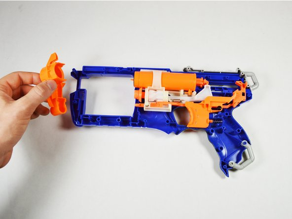 Remove the front component from the blaster.