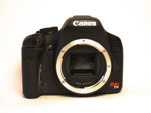 Canon EOS Rebel T1i Troubleshooting
