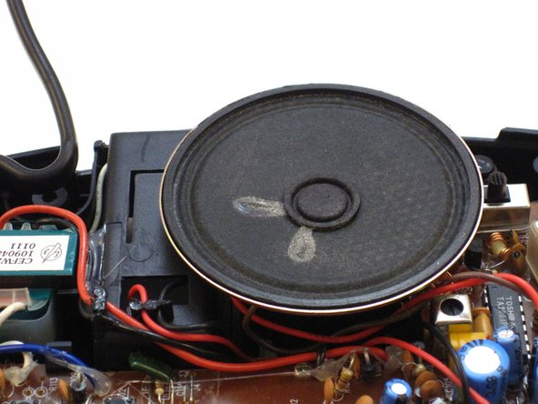 GE 7-4836B Alarm Clock AM-FM Radio Speaker Replacement