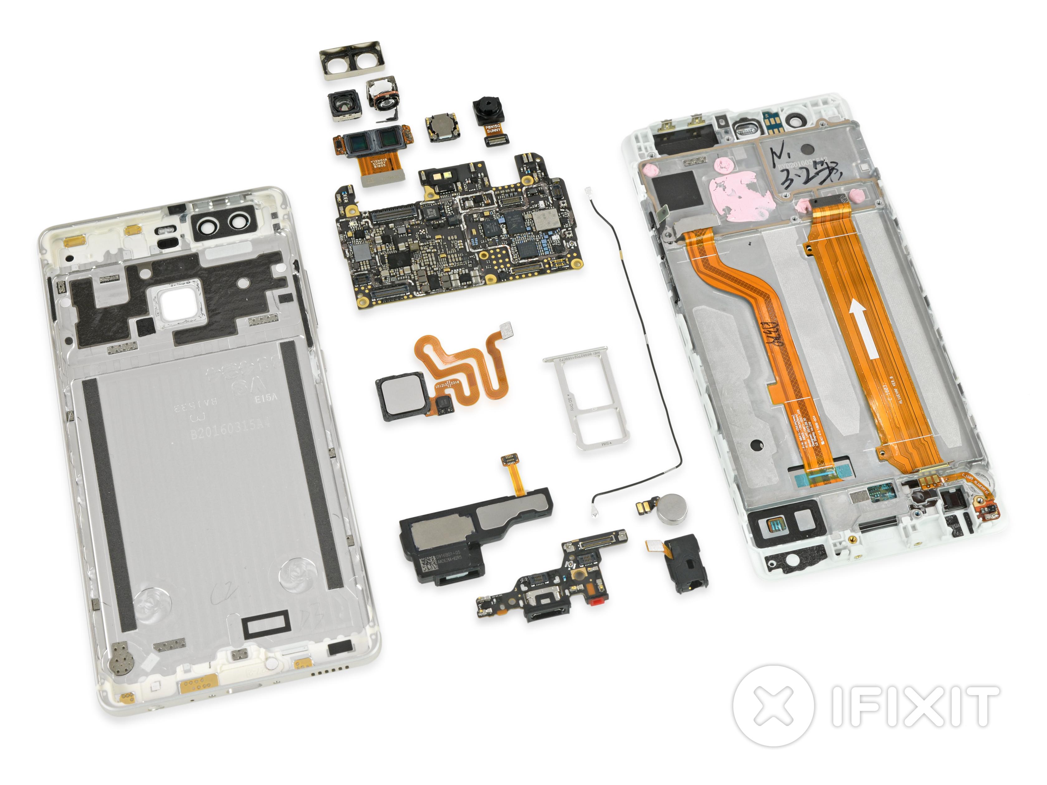 Schemi Elettrici Huawei : Smontaggio huawei p9 ifixit