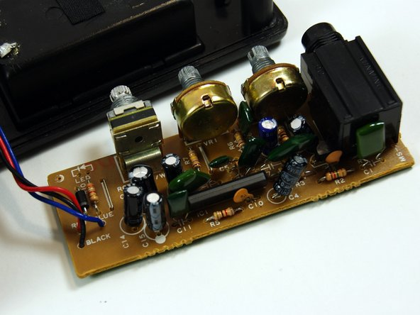 Marshall MS-2 Electrical Component Replacement
