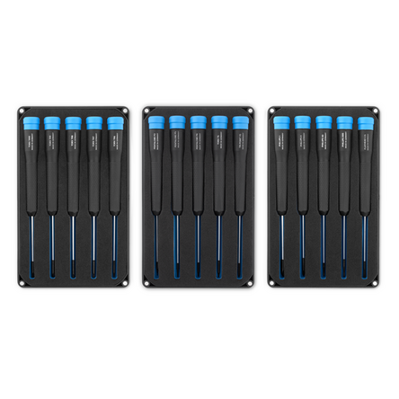 blue and black iFixit toolkit