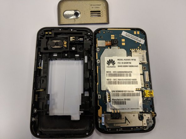 Huawei M750 Back Panel Replacement