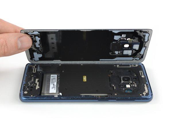 Rimozione pannello di vetro posteriore Samsung Galaxy S9