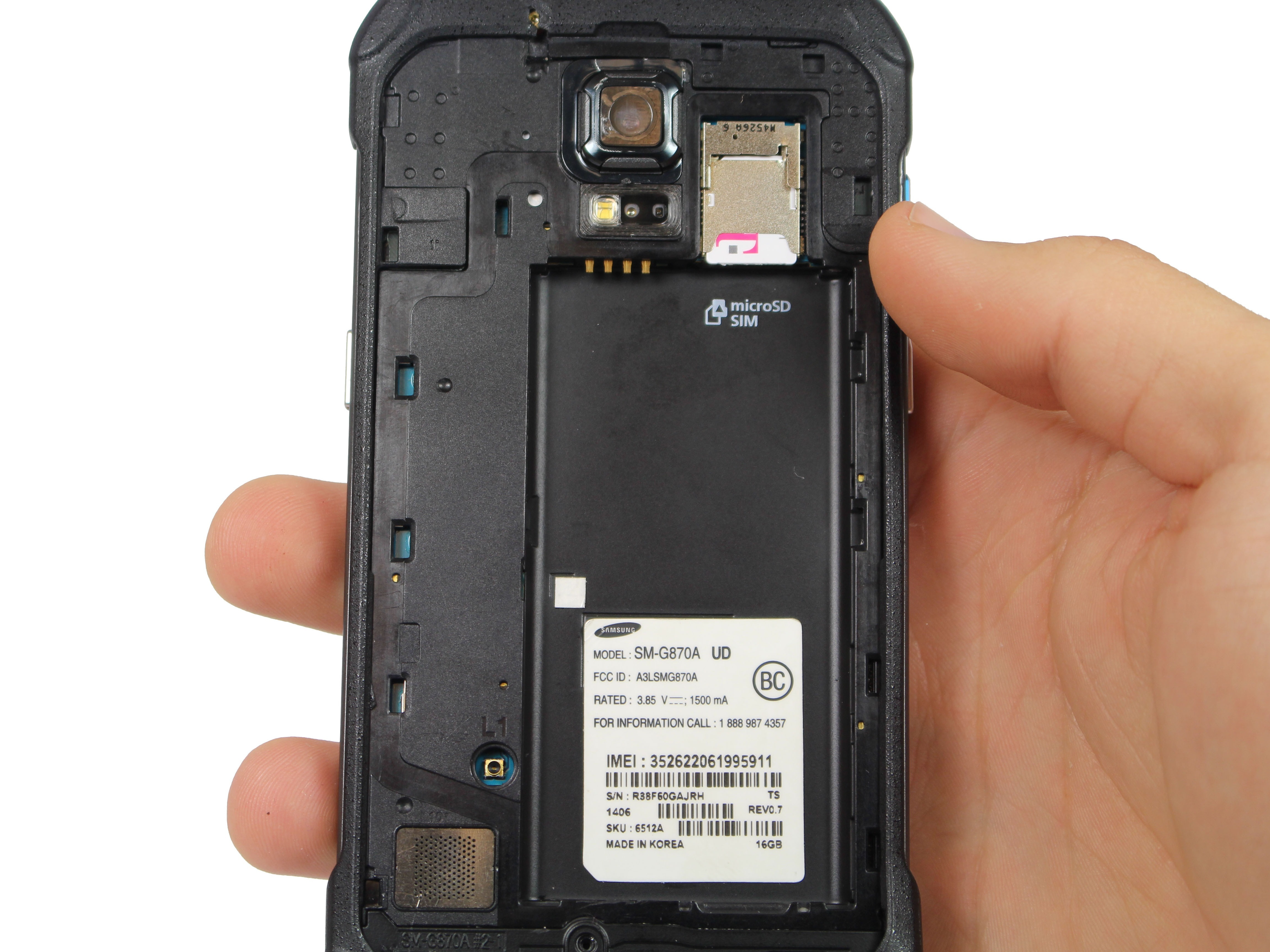 Samsung Galaxy S5 Active SIM Card Replacement - iFixit ...