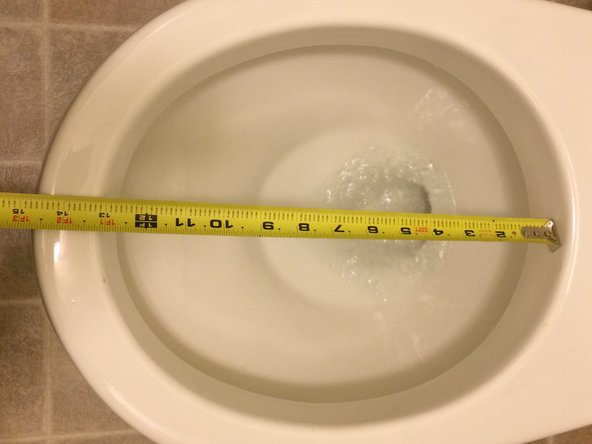Measure the size of your toilet bowl to know what size seat to purchase.