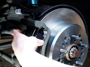 Rear Brake Pad and Rotor