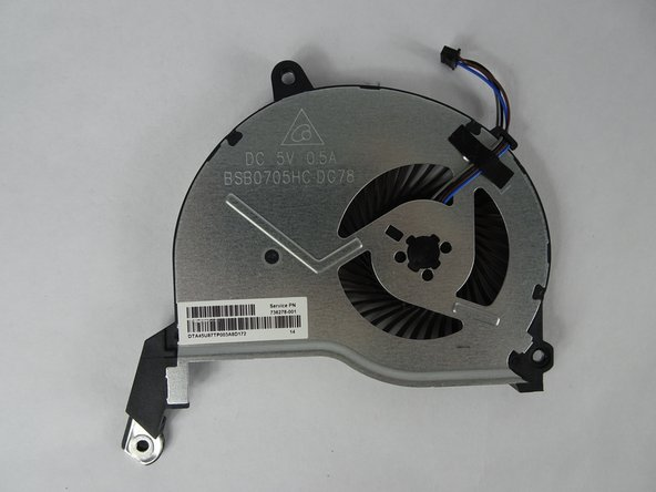 HP 15-f009wm Cooling System Replacement