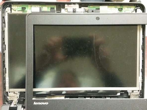 While the LCD is cracked, you still need to take appropriate cautions to avoid damaging the LCD housing.