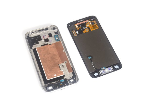 Remove the LCD screen from rear case.