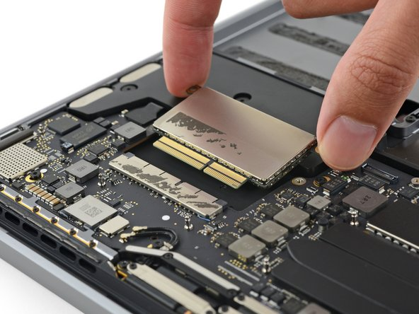 Per Apple, we know the SSD itself uses a high-speed PCIe-based interface—but this form factor and pin configuration look new.