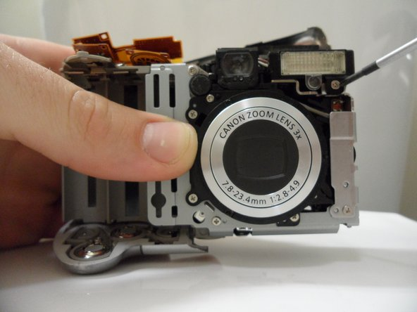 Canon PowerShot A80 Flash Assembly Replacement