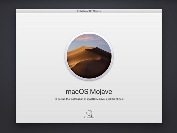 Follow the prompts to install macOS, selecting the newly formatted disk as the target for the installation.