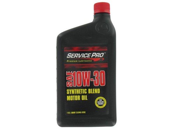 Motor Oil 1qt 10W-30 Main Image