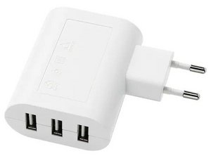IKEA KOPPLA 3 port USB charger