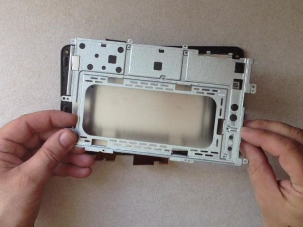 Remove the LCD display metal shield.