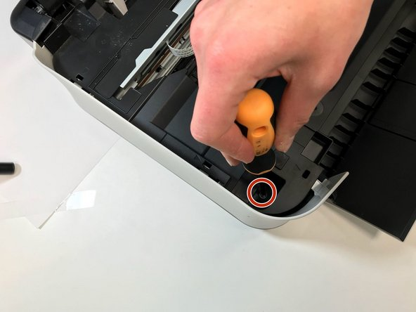When we wanted to take off the cover, there was one screw that we did not see. It was impossible to reach it. We broke off a part of the plastic.