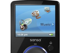 Sansa Fuze MP3 Player