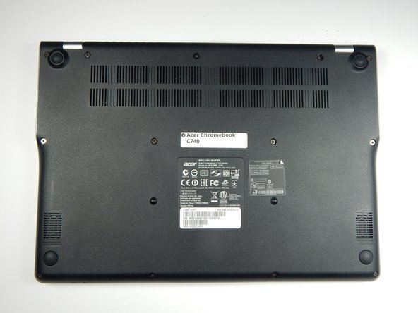 Acer Chromebook C740 Back Panel Replacement