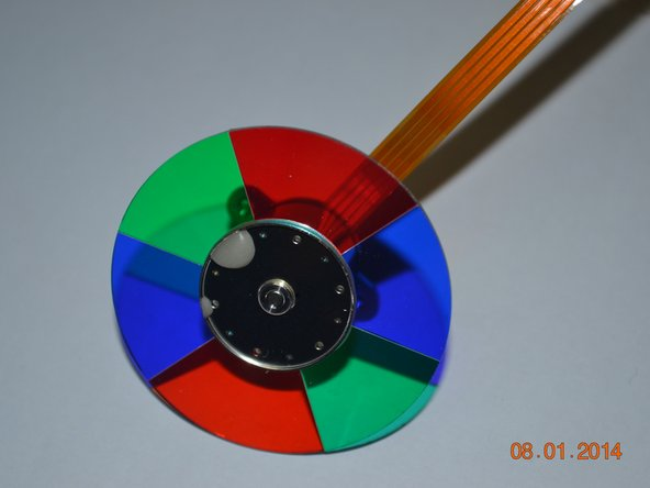 Mitsubishi HC3000 color wheel Main Image