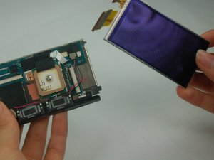 Sony Handycam HDR-CX580V LCD Screen Replacement