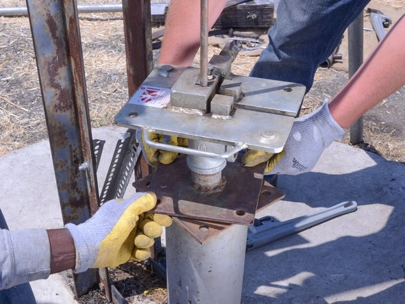 Zungezisa isitja sepompo amadigri ama-45. Lokho kuzokwenzelela ukubamba okuncono nawuphakamisa isitja.