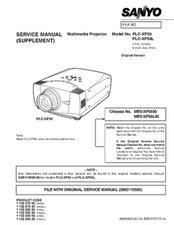 Service Manual PLC-XP56/XP56L