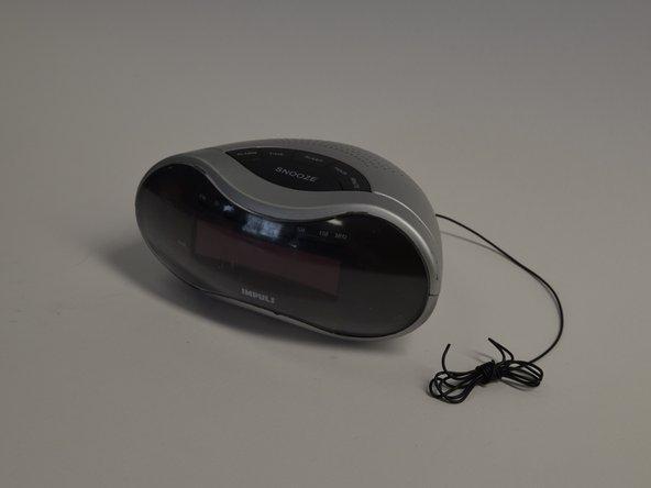 Impuls LED Alarm Clock Radio Disassembly